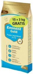 Eminent Gold Dog Puppy Large Breed 15kg + 3kg Zdarma