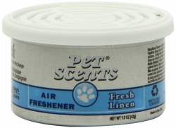 CALIFORNIA SCENTS Air Freshener Pet Scents Fresh Linen 42g