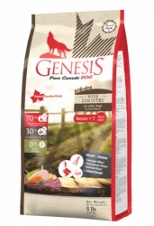 GENESIS PURE CANADA Dog Wide Country Senior 2,268kg