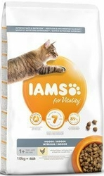 IAMS for Vitality Cat Adult INDOOR Chicken 10kg