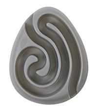 Buster Dog Maze Mini Bowl Grey