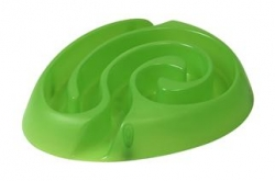 Buster Dog Maze Mini Bowl Lime Green