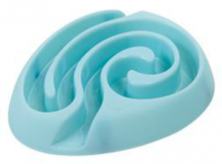Buster Dog Maze Bowl Light Blue