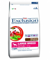 Exclusion Mediterraneo Dog Adult Large Breed Light Chicken 12,5kg
