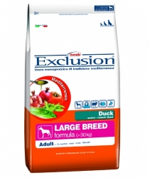 EXCLUSION Mediterraneo Dog Adult Large Breed Duck 12,5kg