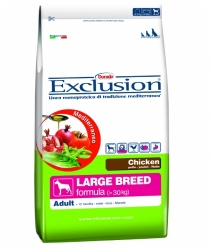 EXCLUSION Mediterraneo Dog Adult Large Breed Chicken 12,5kg