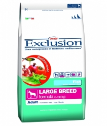 Exclusion Mediterraneo Dog Adult Large Breed Fish 12,5kg