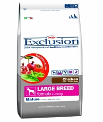 Exclusion Mediterraneo Dog Adult Mature Large Breed Chicken 12,5kg