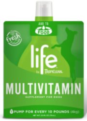 Life by TropiClean MultiVitamin Supplement for Dogs 74ml