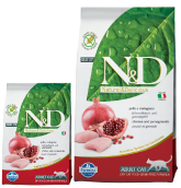 N&D Grain Free Adult Cat Chicken&Pomegranate   300g