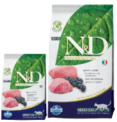 N&D Grain Free Adult Cat Lamb&Blueberry   300g