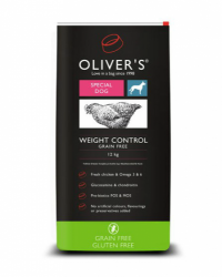 OLIVER´S Weight Control Grain Free Small 4kg