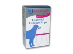 Orozyme Oradental Collagen Strips S 224g