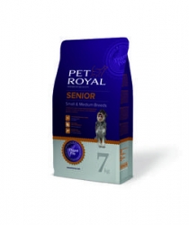 PET ROYAL SENIOR DOG SMALL&MEDIUM BREEDS 7KG