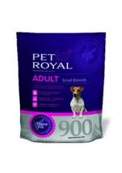 PET ROYAL ADULT DOG SMALL BREEDS 900G