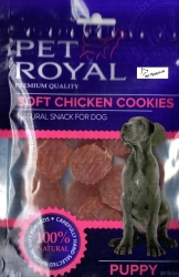 Pet Royal Premium Quality Puppy Soft Chicken Cookies 75g