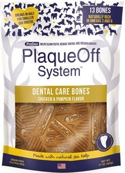 ProDen PlaqueOff® Dental Bones Chicken & Pumpkin 482g