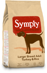 SYMPLY Dog Adult Large Breed Turkey & Rice 12kg