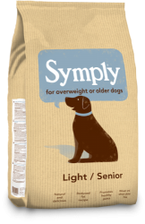 SYMPLY Dog Adult Light/Senior Lamb & Rice 2kg