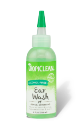 TropiClean Alcohol Free Ear Wash for Dog 118ml
