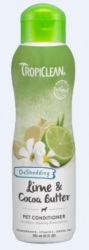TropiClean Conditioner DeShedding Lime & Cocoa Butter 355ml