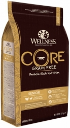 Wellness CORE Grain Free Dog Senior Turkey with Chicken Recipe 1,8kg
