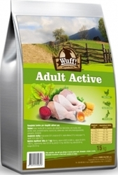 Wuff! Dog Adult Active 15kg
