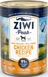 Ziwi Peak Dog Chicken Recipe 390g