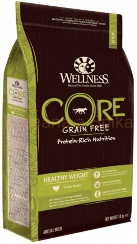 Wellness Core Grain Free Dog Healthy Weight Turkey Recipe